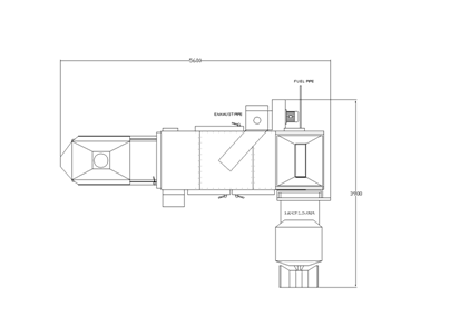 Hot Air Roasters Tunnel Type-TA3-300-2