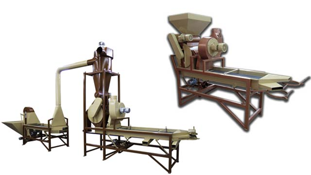 Peanut Cracking Machines small